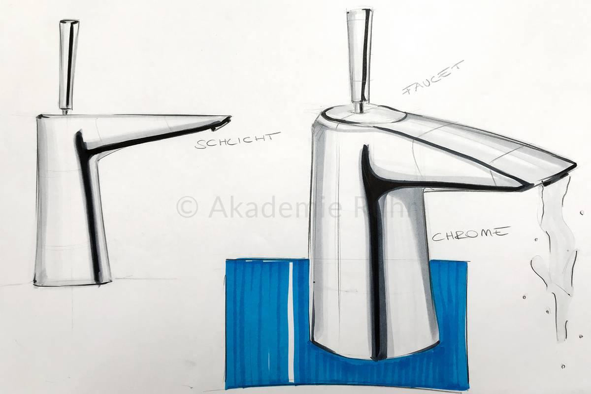 Mappenbeispiele produktdesign akademie ruhr for Industrial design studium