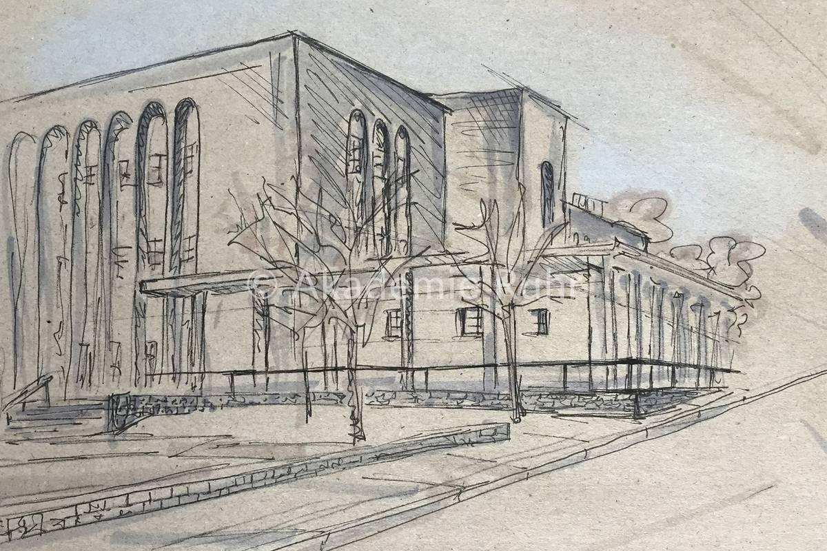 Mappenbeispiele architektur akademie ruhr for Berlin architektur studieren