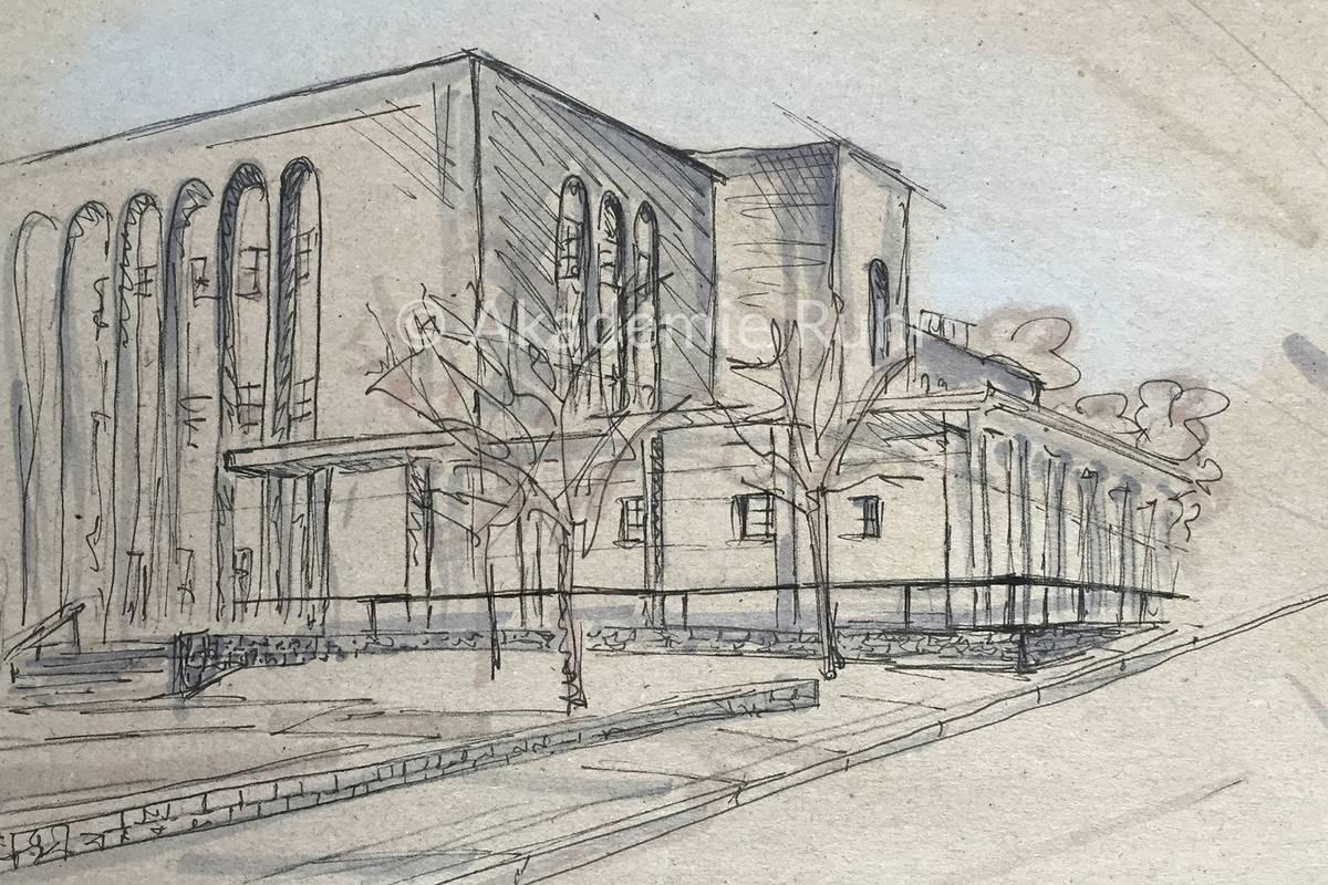 Intensiv mappenkurs berlin akademie ruhr for Berlin architektur studieren